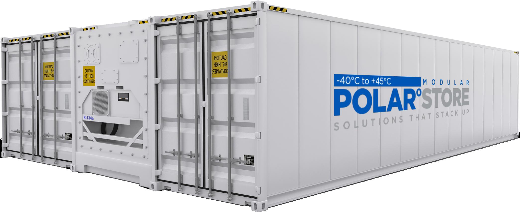 Polar°Store Geschakelde Koelcontainers huren