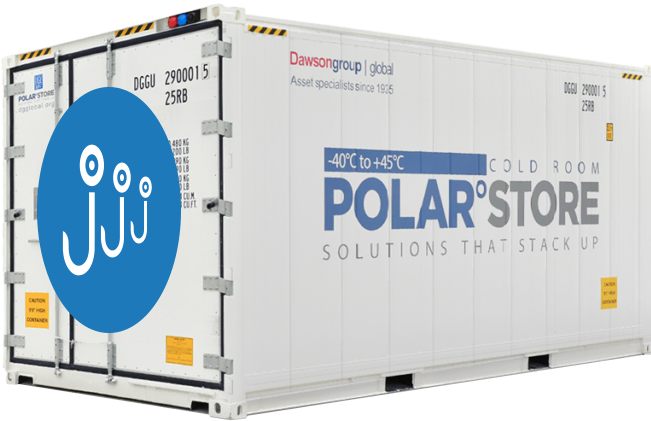 Polar°Store Vleeshangcontainer huren